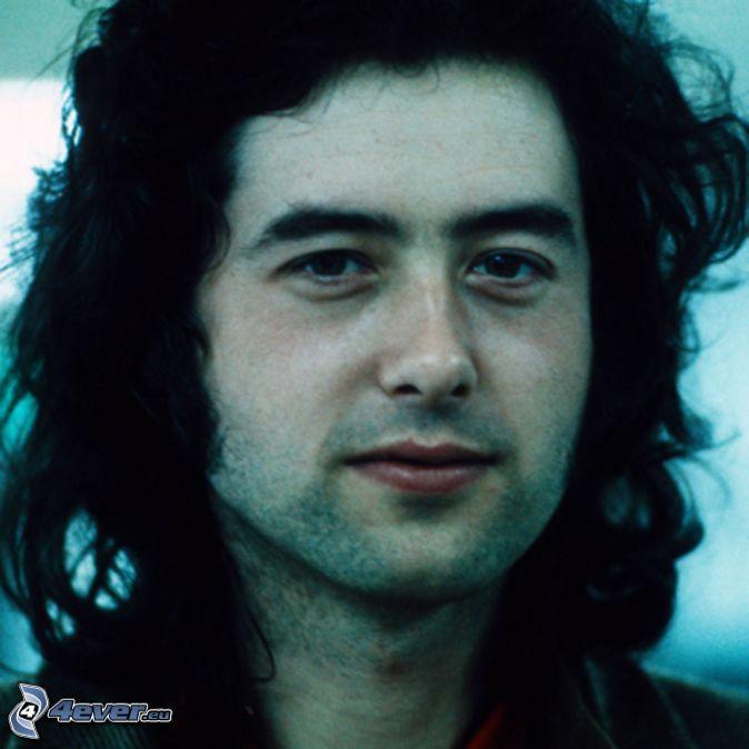 Jimmy Page, gitarista, za mlada