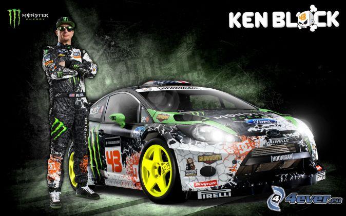 Ken Block, Ford, pretekárske auto