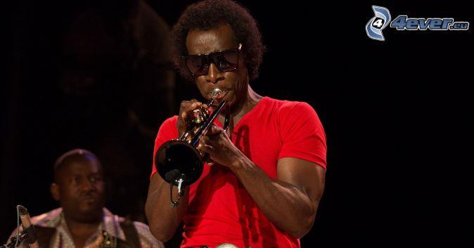 Miles Davis, hra na trúbku