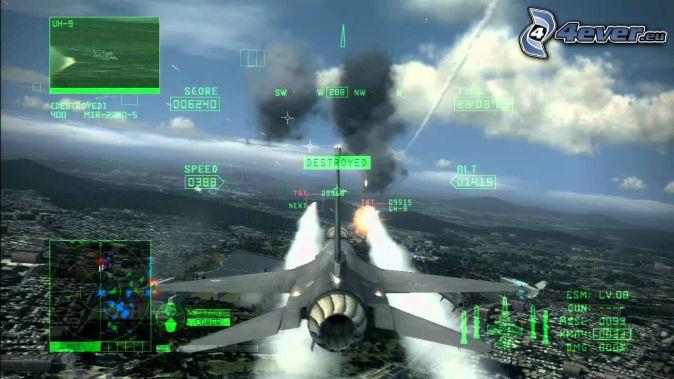 Ace Combat 6, stíhačka