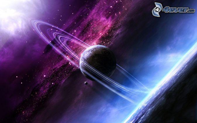planéta, vesmír