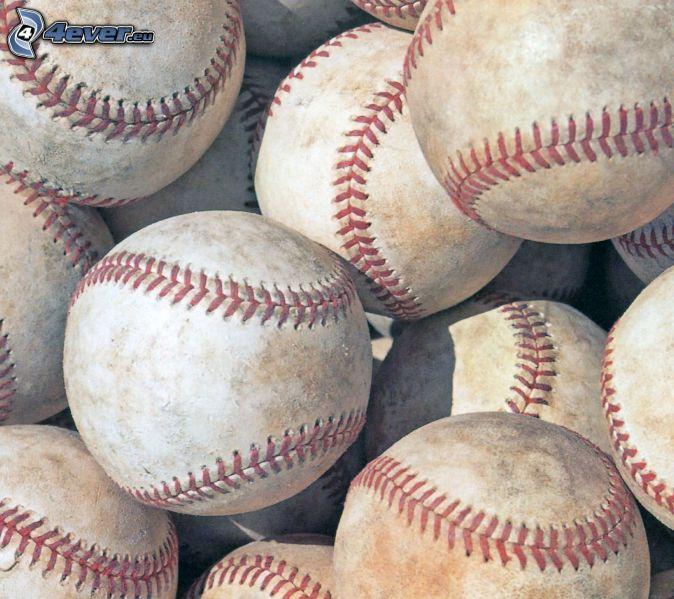 baseballové loptičky
