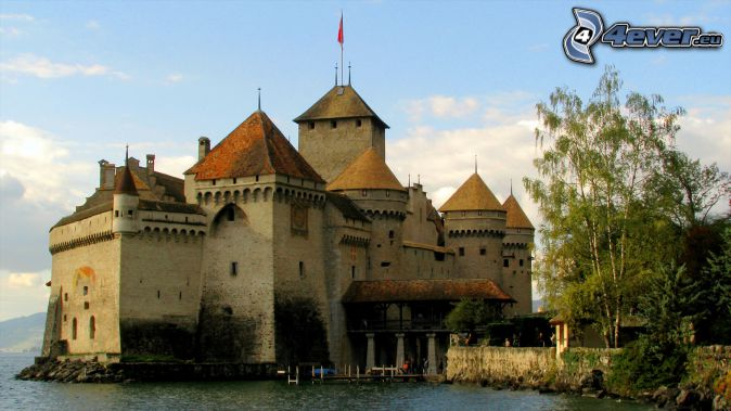 hrad Chillon
