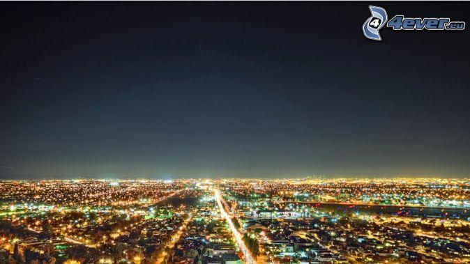 Los Angeles, nočné mesto