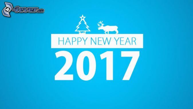 2017, šťastný nový rok, happy new year, sob, vianočný stromček