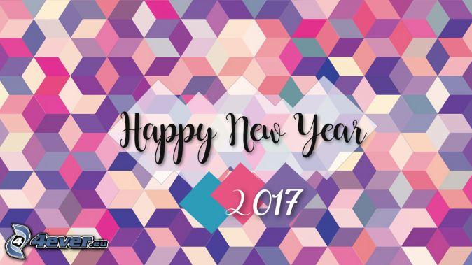 šťastný nový rok, happy new year, 2017