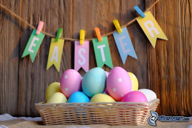 veľkonočné vajíčka, Happy Easter