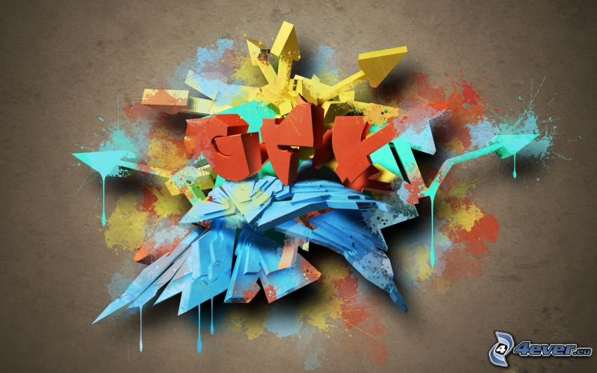 abstrakt, 3D