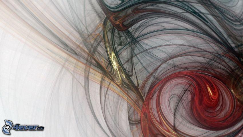 abstraktné čiary