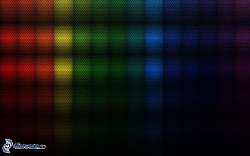 abstraktné obdĺžniky, farebné pozadie