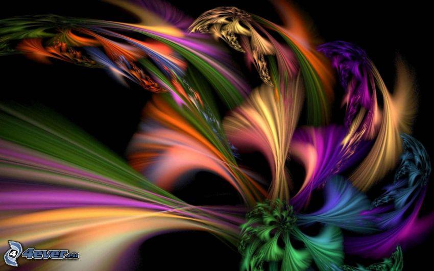 abstraktné pozadie, farby