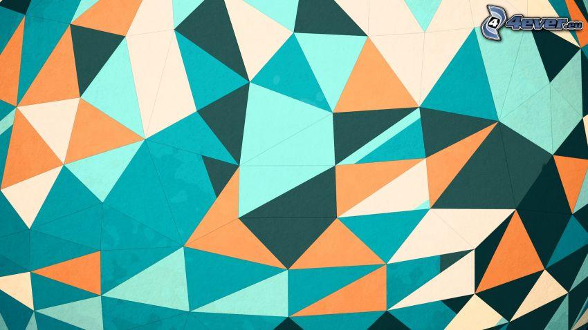 abstraktné trojuholníky