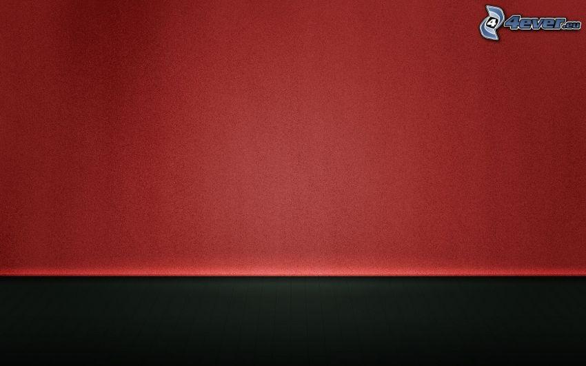 červené pozadie