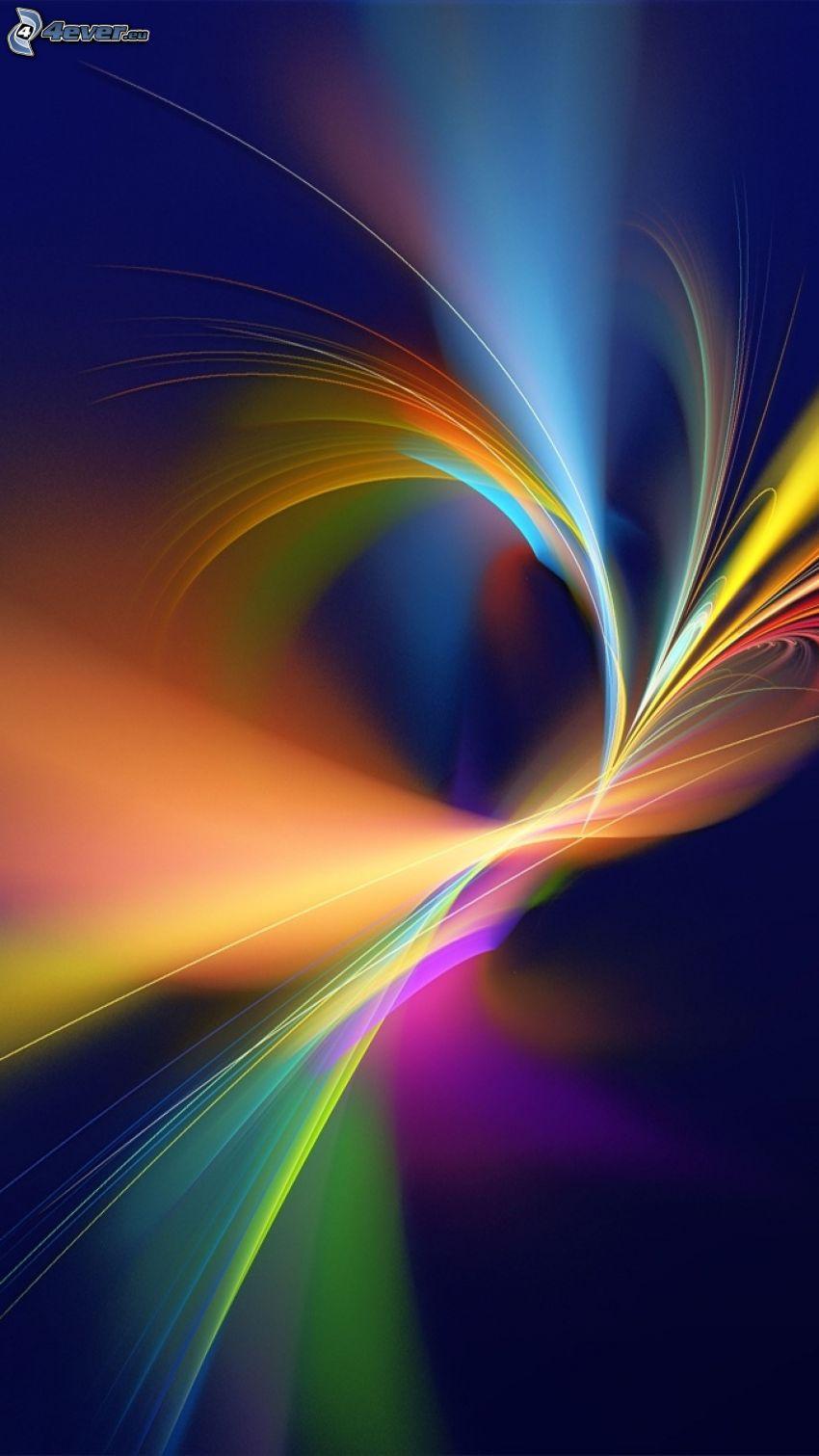 farebné čiary