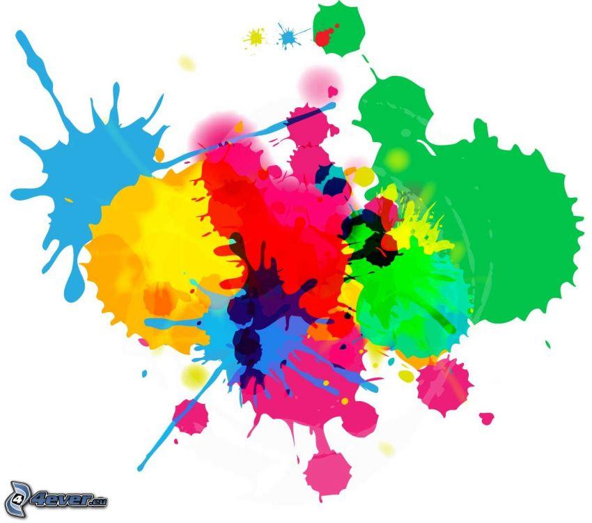 farebné machule