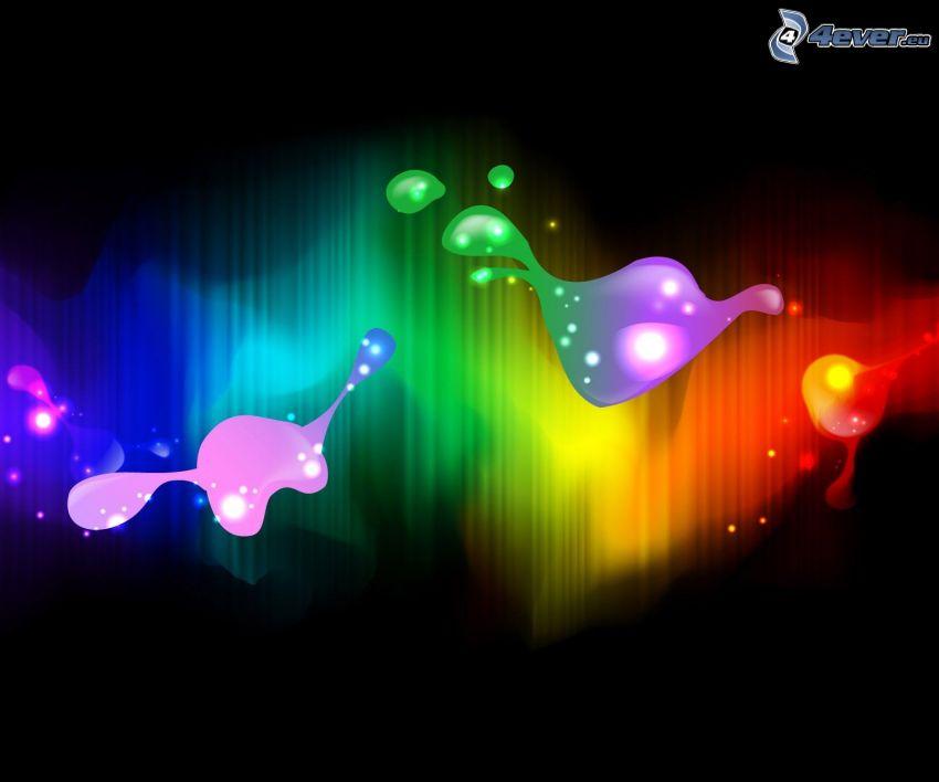 farebné pozadie, abstraktné pozadie