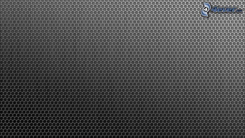 krúžky, sivé pozadie