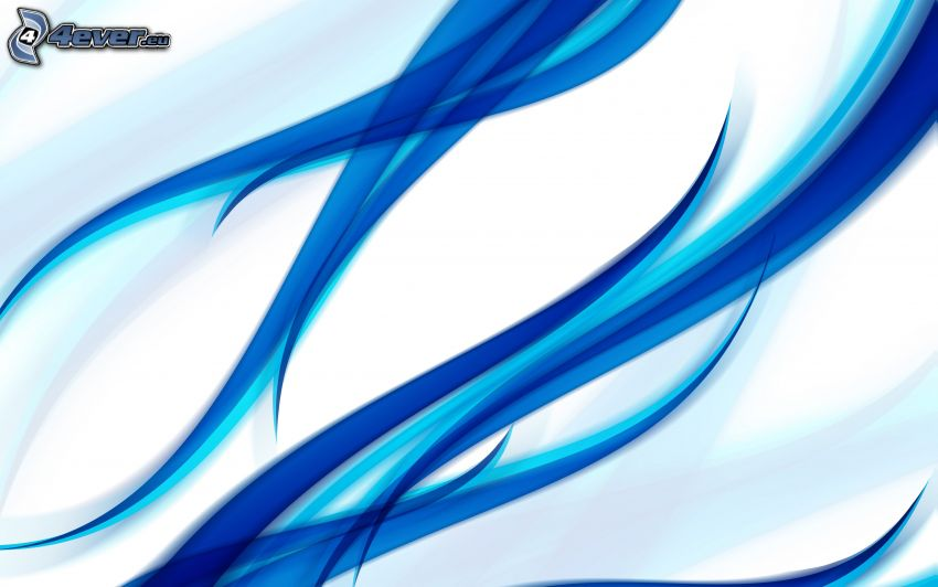 modré čiary