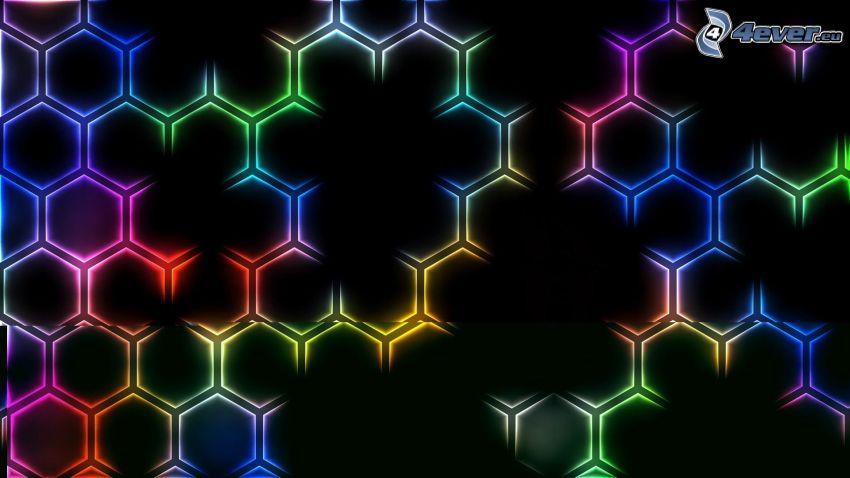 šesťuholníky