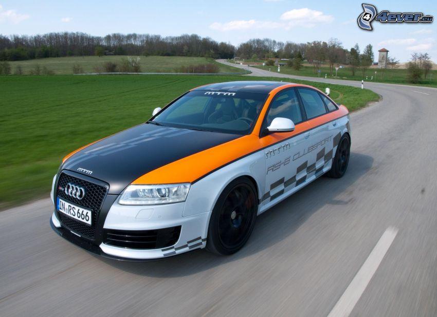 Audi RS6, cesta, rýchlosť
