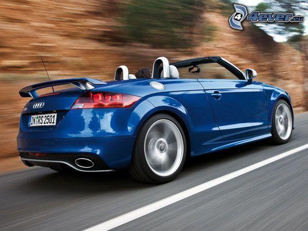 Audi TT, kabriolet, rýchlosť