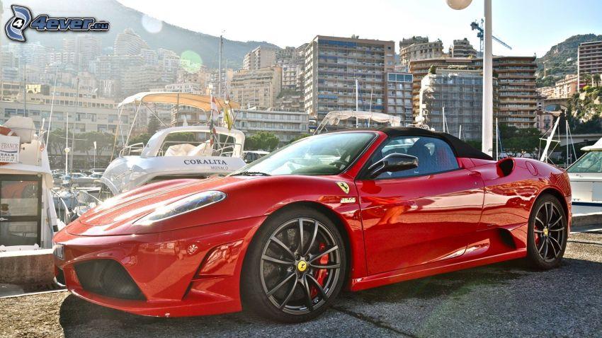 Ferrari F430, kabriolet, prístav