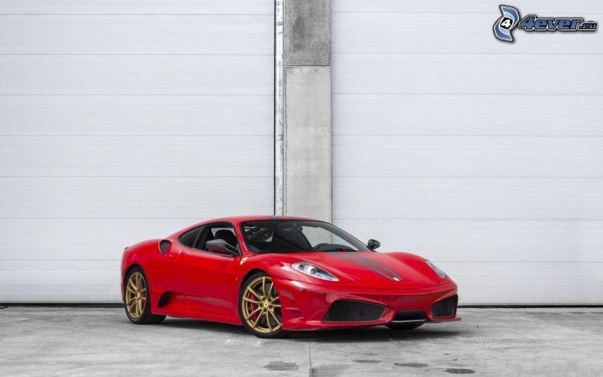 Ferrari F430 Scuderia, garáže
