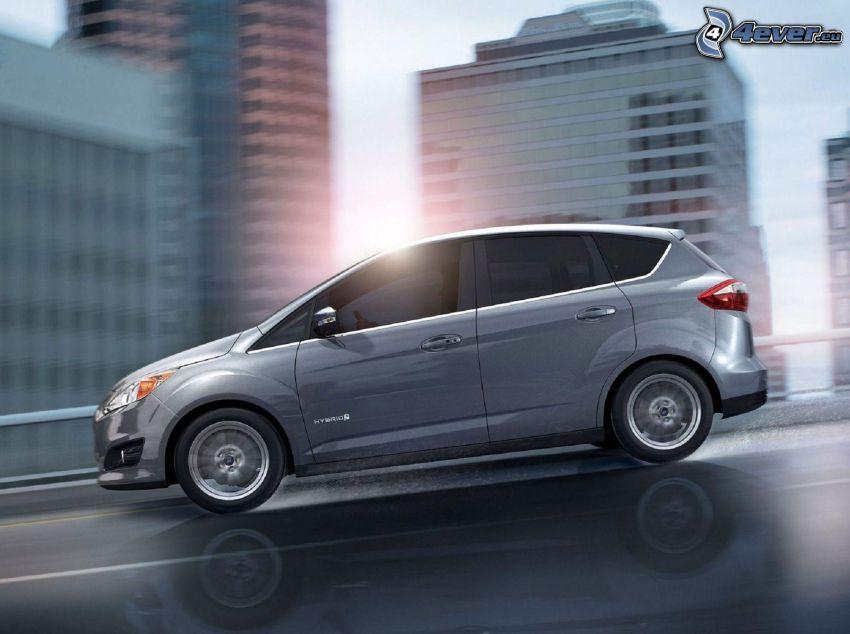 Ford C-Max, rýchlosť, mesto