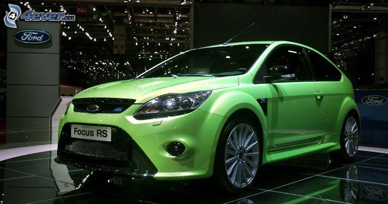 Ford Focus RS, autosalón Ženeva