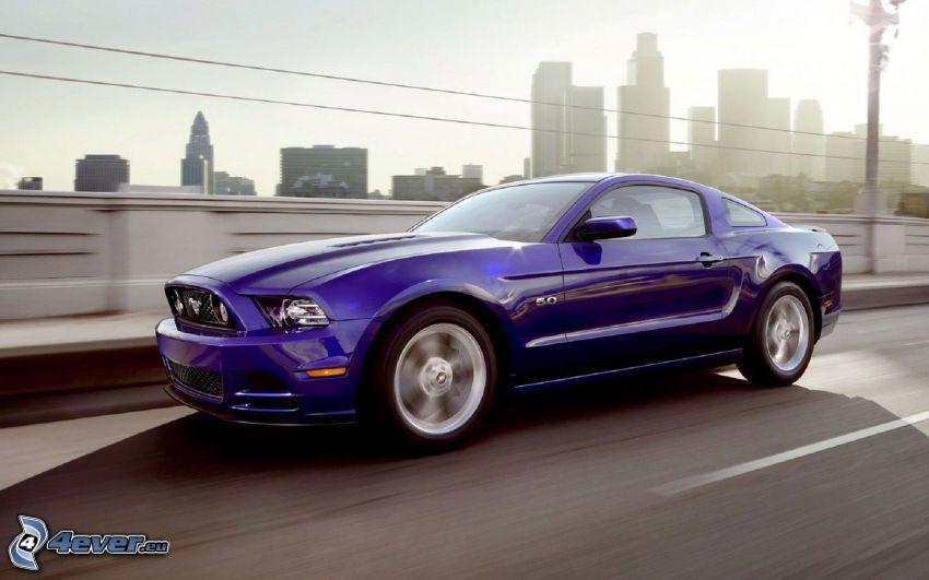 Ford Mustang GT, rýchlosť, cesta