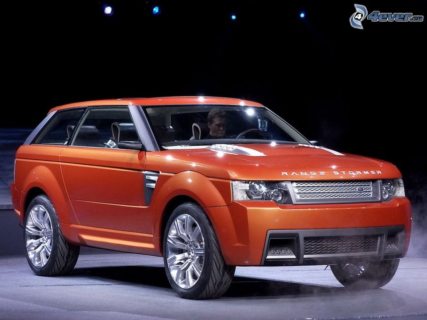 Land Rover Range Supercharge, terénne auto, SUV