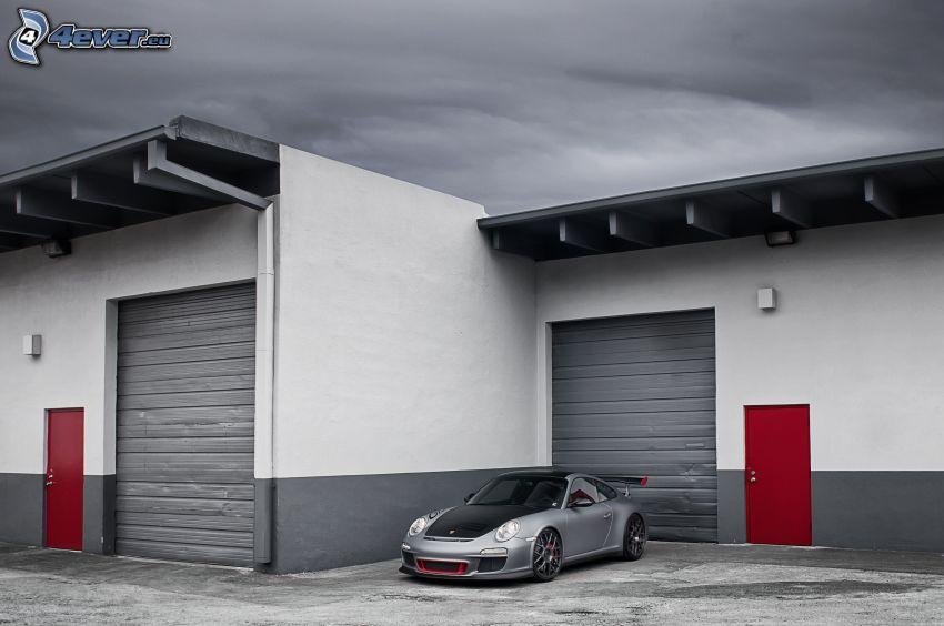 Porsche 911 GT3, garáže