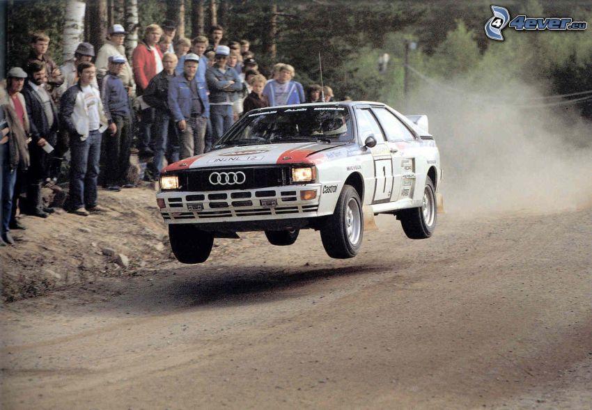 Audi 80 Rally, skok