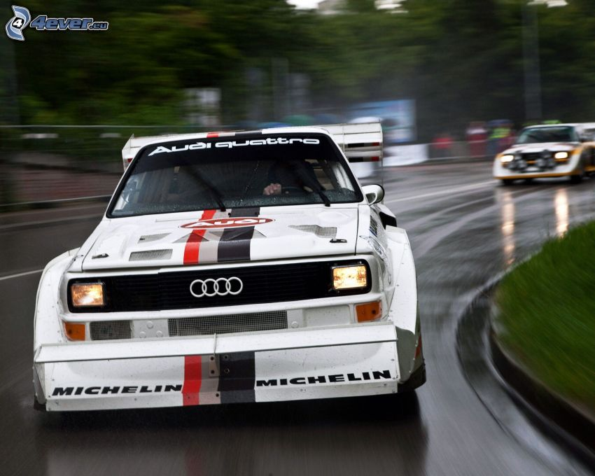 Audi Quattro, veterán, rýchlosť