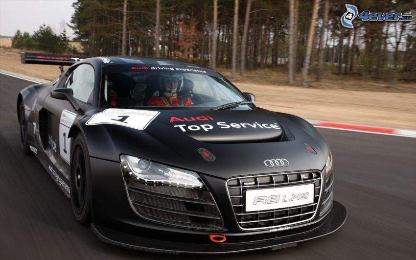 Audi R8, les