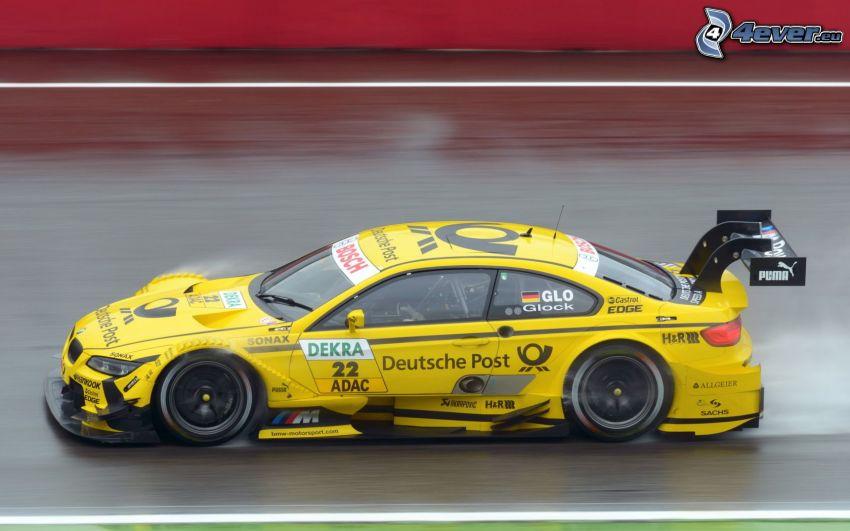 BMW, pretekárske auto, rýchlosť
