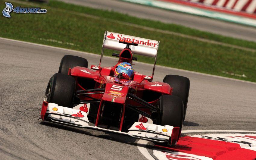Fernando Alonso, formula, pretekársky okruh