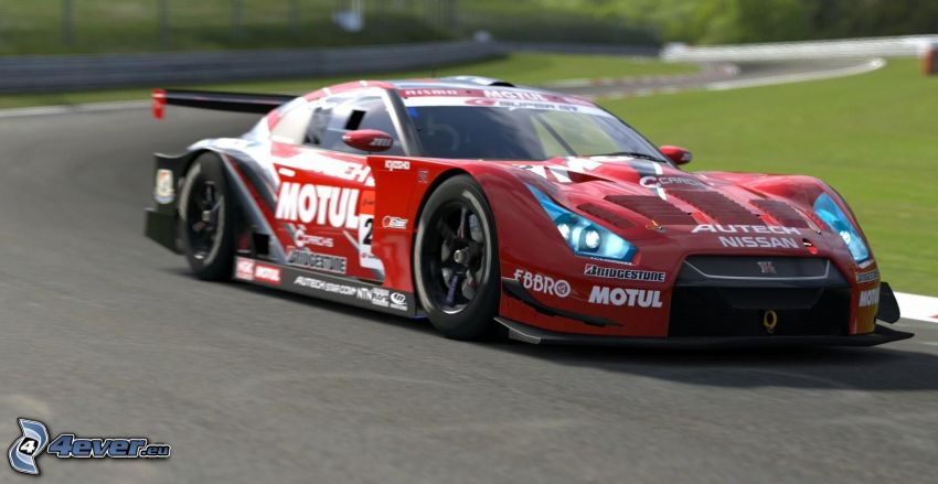 Ferrari, pretekárske auto, pretekársky okruh