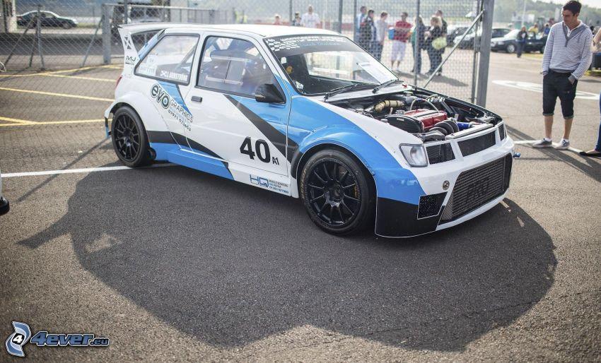 Ford Fiesta RS, pretekárske auto