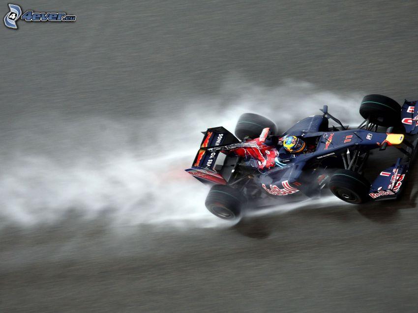formula, rýchlosť, dym
