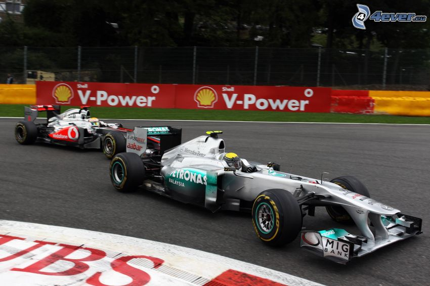 Formula 1, pretekársky okruh