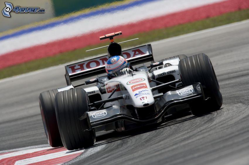 Honda, formula, pretekársky okruh