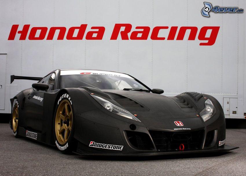 Honda HSV, pretekárske auto