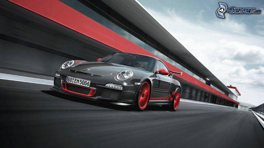 Porsche 911 GT3, rýchlosť, pretekársky okruh