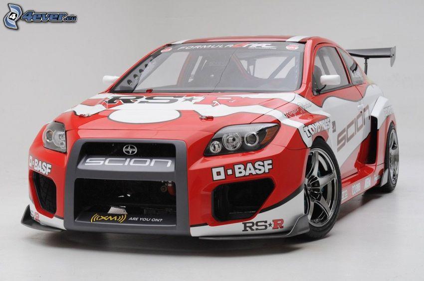 Scion TC, pretekárske auto
