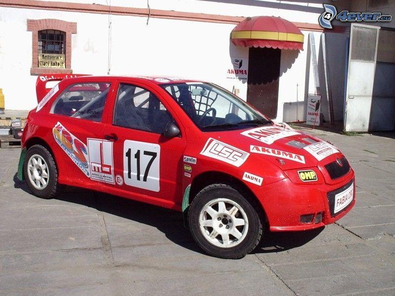 Škoda Fabia, rally