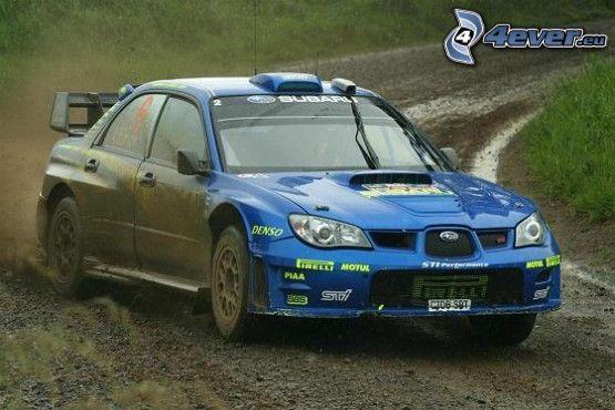 Subaru Impreza, rally