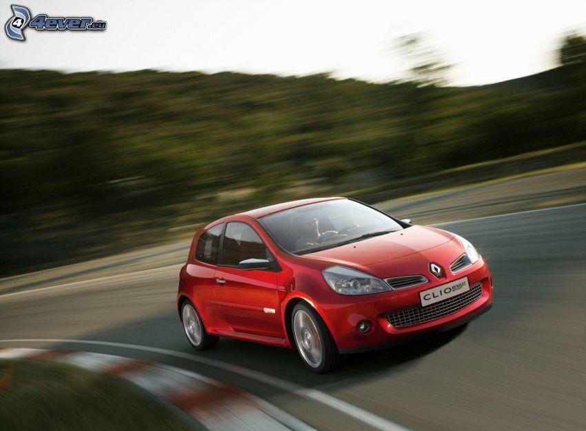 Renault Clio, rýchlosť