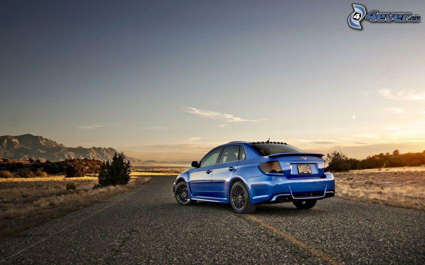 Subaru Impreza WRX, cesta