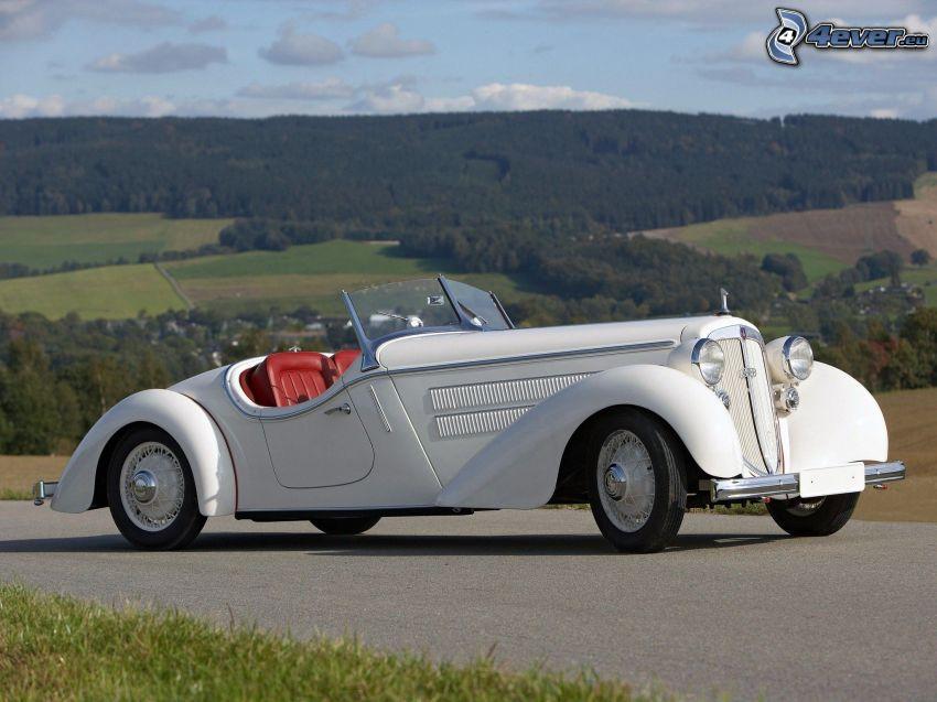 Audi 1935, kabriolet, veterán